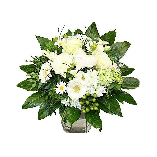 Blumenstrauß Weiße Perle