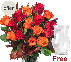 15 autumnly roses
