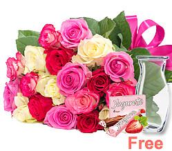 Rose Bouquet Zuckerwatte