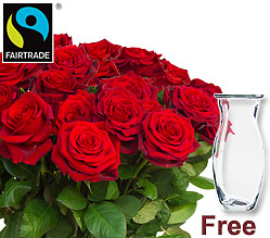 Red FAIRTRADE Roses