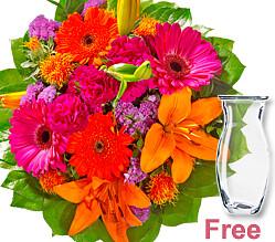 Flower Bouquet Farbtraum