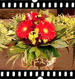 4. Fertig ist der wunderschöne Blumenstrauß