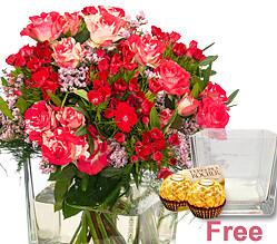 Flower Bouquet Feuerwerk