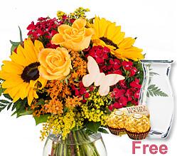 Bouquet Mamas Lächeln
