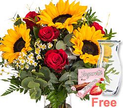 Flower Bouquet Danke