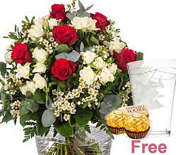 Premium Bouquet Rosengruß