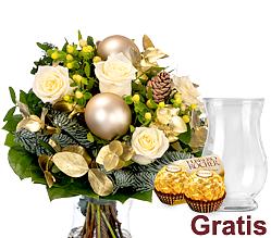 Blumenstrauß Goldglanz