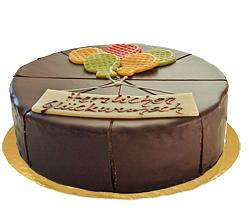 Dessert-Torte Glückwunsch