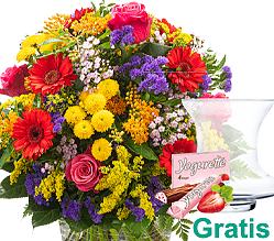 Premiumstrauß Blütenwiese