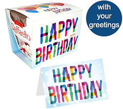Raffaello Card: Birthday