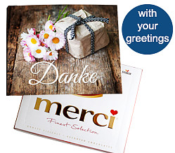 Merci Card: Danke
