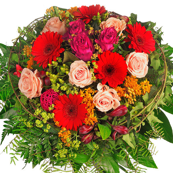 Blumenstrauß Schönheit - broschei
