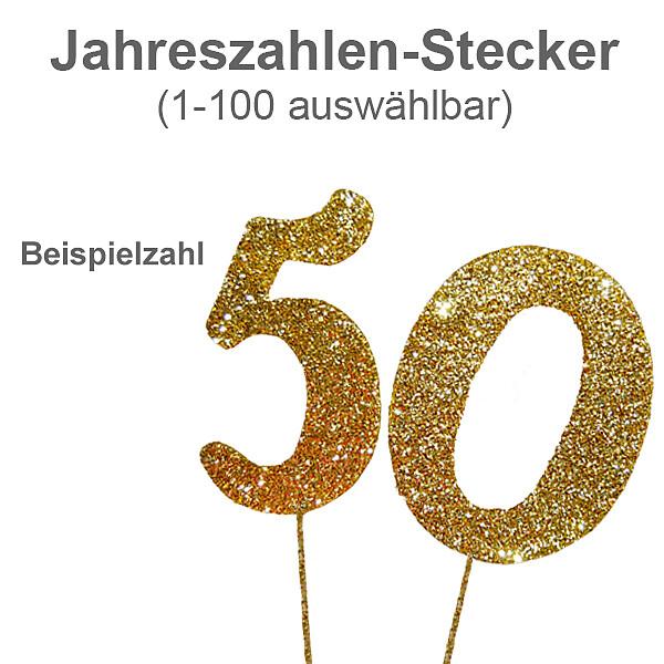 Jubiläums-Stecker (1 - 100)