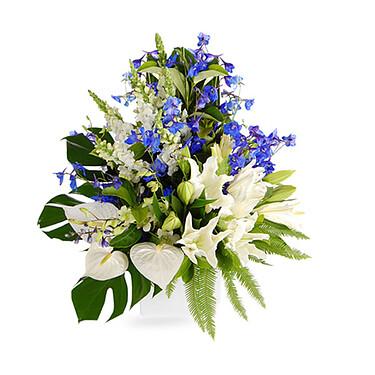 Blumenstrauß Saphir