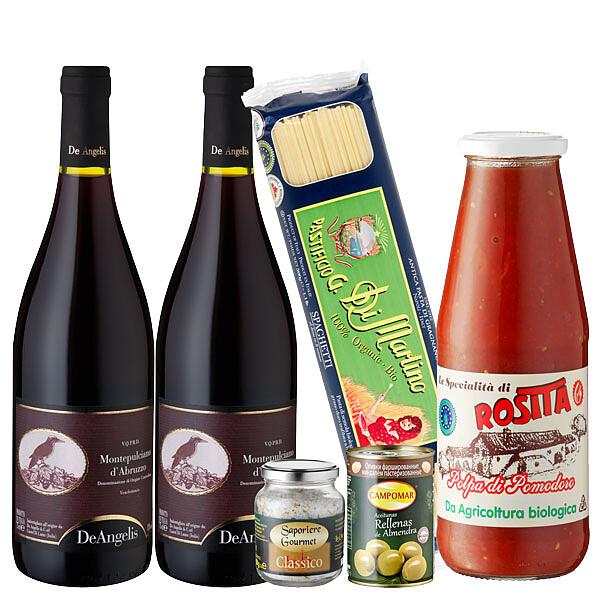 Flora Prima DE Italienisches Gourmetpaket