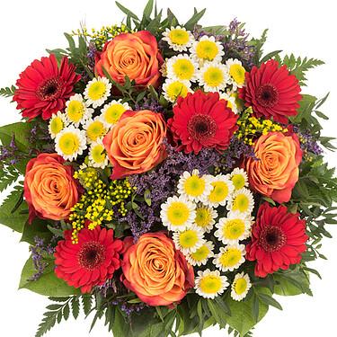 Flower Bouquet Liebe Grüße