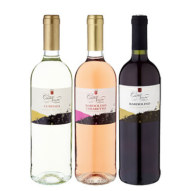 "3 Bottles of Wine ""The Gardasee"" Set"
