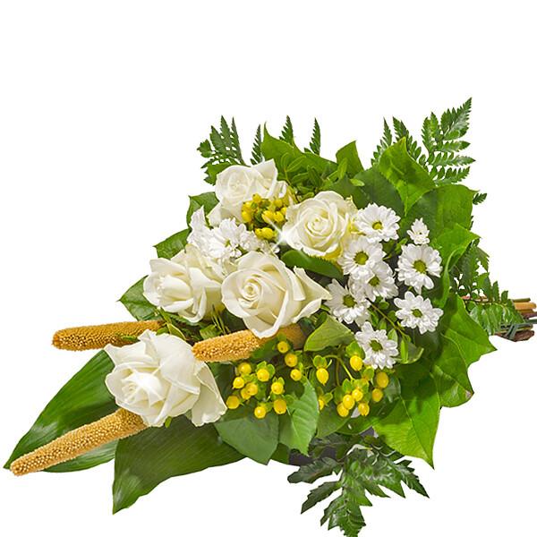 Liegestrauß in Weiß Blumen Online