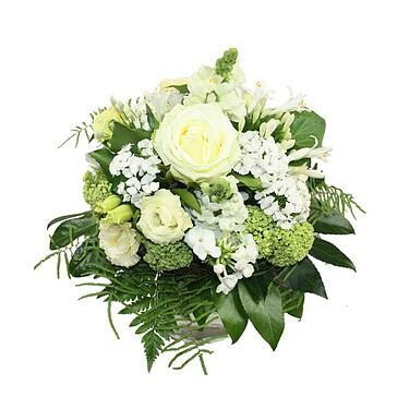 Flower Bouquet Weiße Sinfonie
