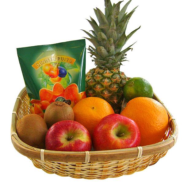 Präsent Obstkorb