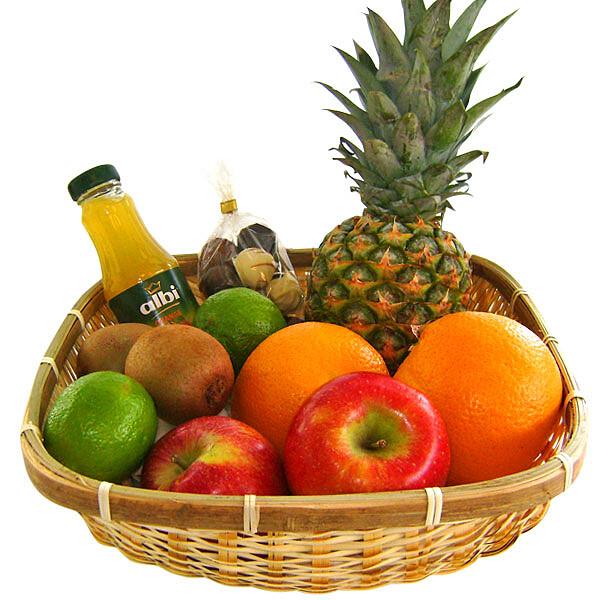 Köstlichgeschenksets - Präsent Vitaminkorb - Onlineshop FloraPrima