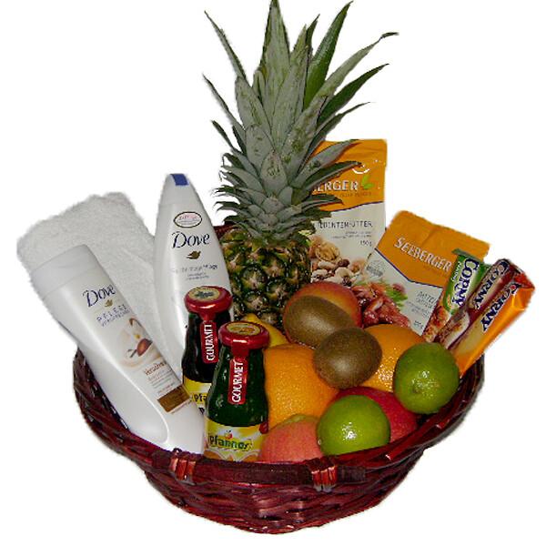 Köstlichgeschenksets - Präsentkorb Fitness für Sie - Onlineshop FloraPrima
