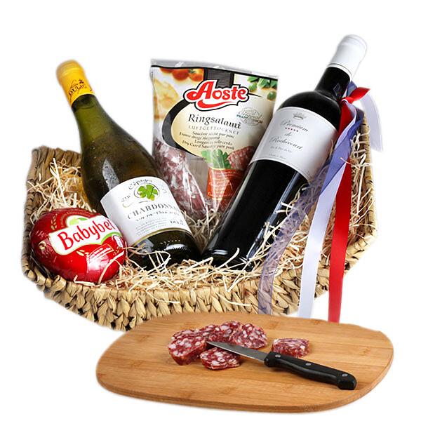 Köstlichgeschenksets - Gourmetkorb Vive La France - Onlineshop FloraPrima