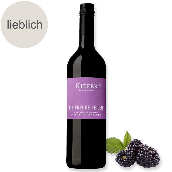 """Rotwein """"Die Freude teilen"""""""