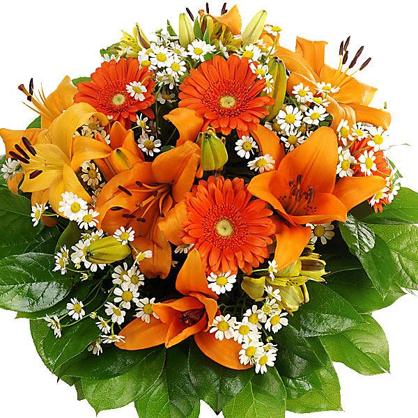 Flower Bouquet Orange