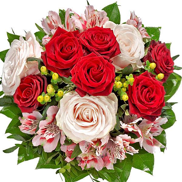 Flower Bouquet von Herzen
