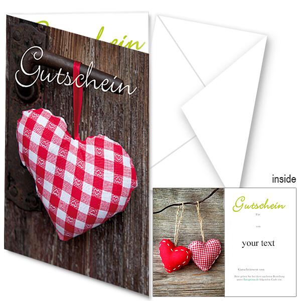 Gift Certificate Heart