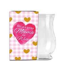 Banderole für Glasvase Marie