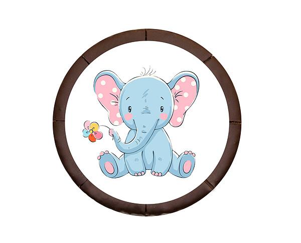"""Dessert-Motiv-Torte """"Elefant"""""""